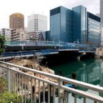 勝どきと豊海を結ぶ「新島橋」の工事は来年の6月24日まで
