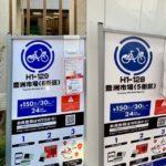 1月22日豊洲市場の駅にドコモバイクシェアの2ポートが同時にオープン