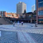 晴海地区の公園全紹介【晴海トリトンスクエアの広場と桜の散歩道】