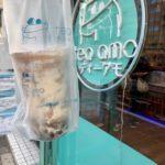 豊洲のタピオカ専門店「tea amo 豊洲店」でタピ活。クリームブリュレタピオカドリンクを楽しみました