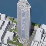 もんじゃストリート北側一部、公園などを含む月島3丁目北地区に2025年に58階建てのタワーマンションが建設されるようです