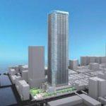魚菜はざまなどが存在する月島3丁目南地区に2024年に50階建てのタワーマンションが建設されるようです