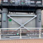 隅田川テラスの勝どきと月島の間がついに開通!月島水門に新しくできた橋を見てきました