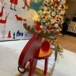 晴海トリトンスクエア2階にひっそりとクリスマスフォト撮影コーナーができています