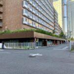 閉館したホテルフクラシアの地上と地下の駐車場が2021年7月21日にコインパーキングとしてサービス開始